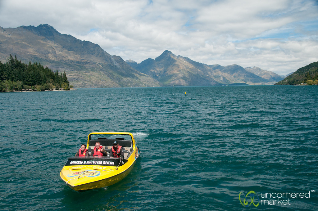 Queenstown Jet Boat - New Zealand