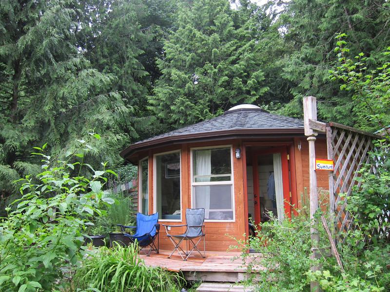 A Yurt on Bainbridge Island, Seattle