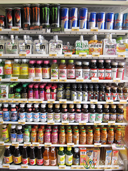 Convenience Strore Engergy Drinks - Japan