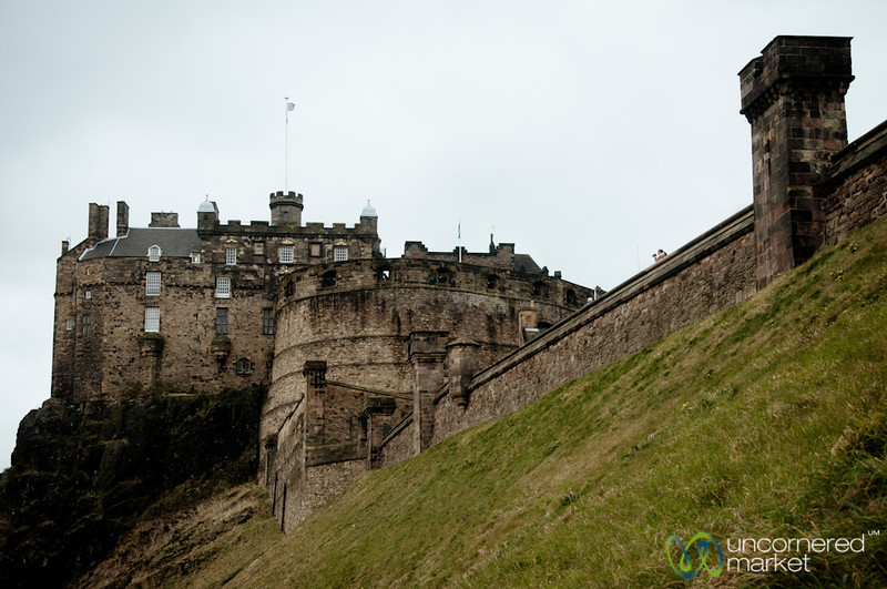 Edinburgh Castle and Greens - Scotland