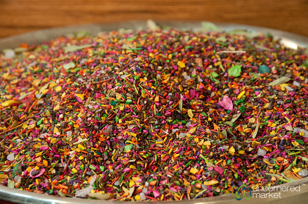 Multi-Colored Herbal Tea - Shiraz, Iran