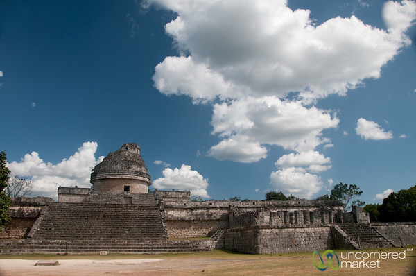 Observatory at Chichen Itza - Yucatan, Mexico