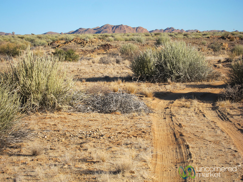 Road Through the Desert - Canyon Lodge, Namibia