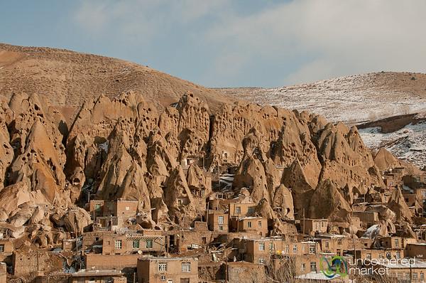 Fairy Chimneys in Kandovan, Iran