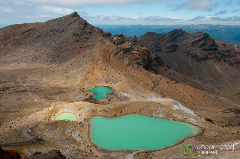 Emerald Lakes - Tongariro Crossing, New Zealand