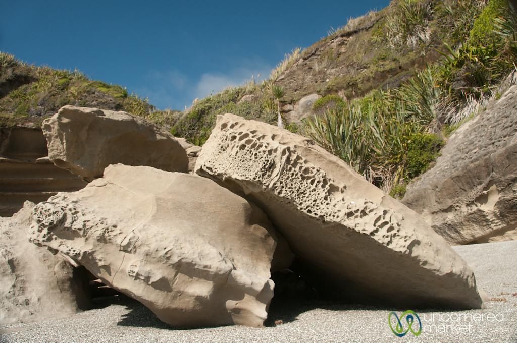 Rocks at Punaikaiki, New Zealand