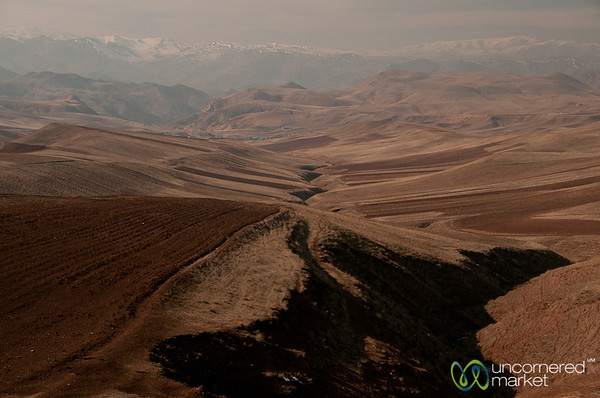 Mountains on the way to Rasht, Iran