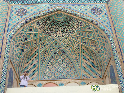 Persian Design at Amir Chakhmaq Mosque - Yazd, Iran