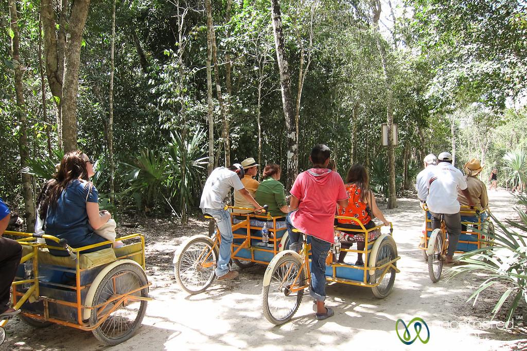 Bicycle Journeys Through Coba Ruins - Yucatan, Mexico