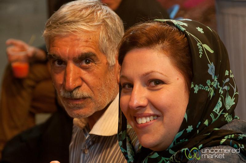 Iranian Hospitality at Shiraz Market