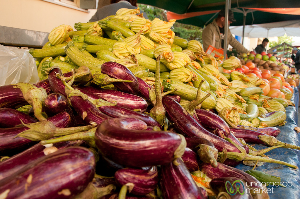 Vegetables at Heraklion Market - Crete, Greece