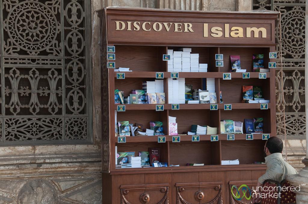 Islamic Books at the Muhammad Ali Mosque - Cairo, Egypt