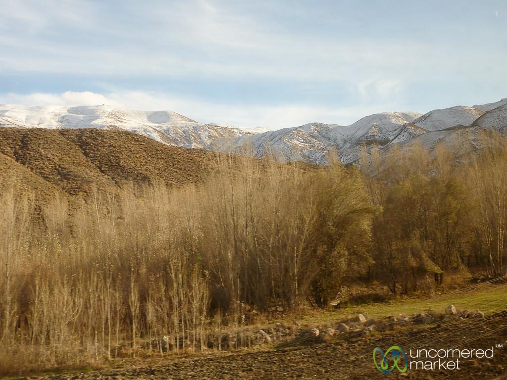 Autumn Landscapes on Iran-Turkey Border
