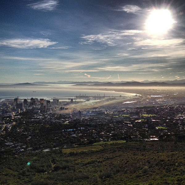 View from Table Mountain, Cape Town - South Africa