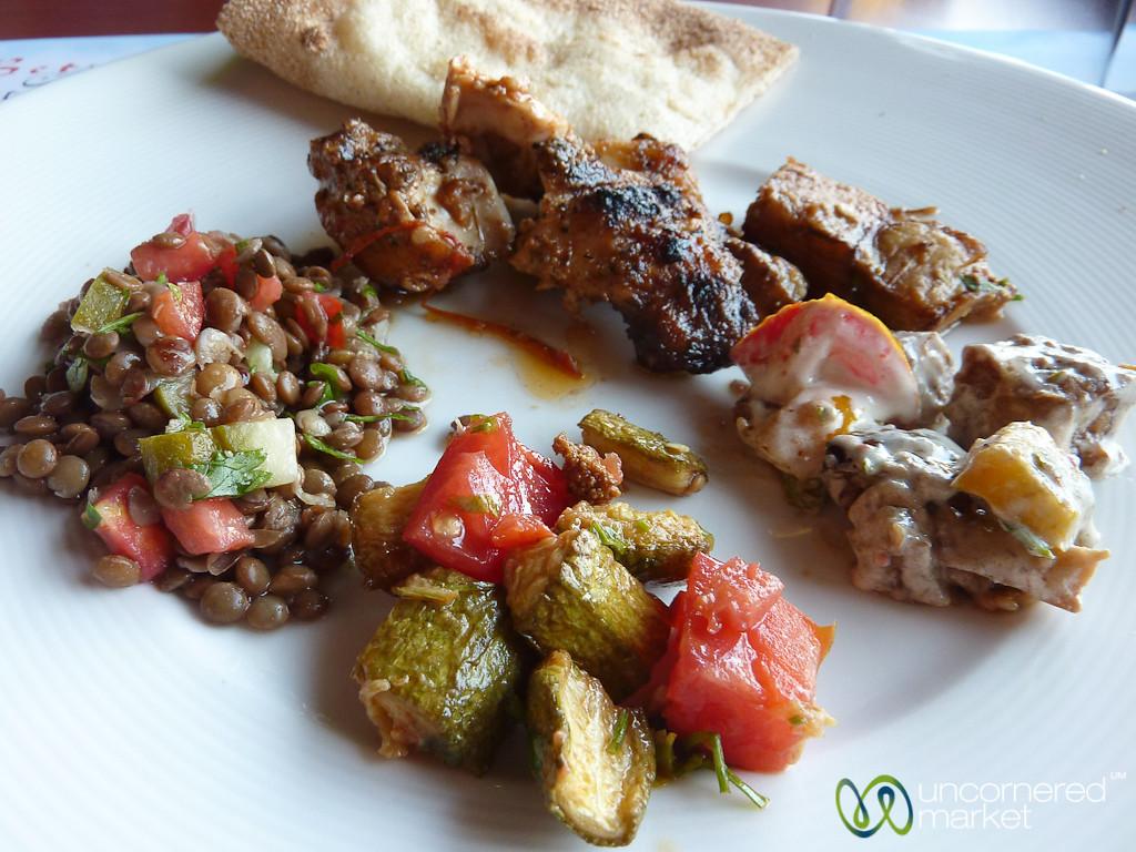 Egyptian Food Lunch - Cairo, Egypt