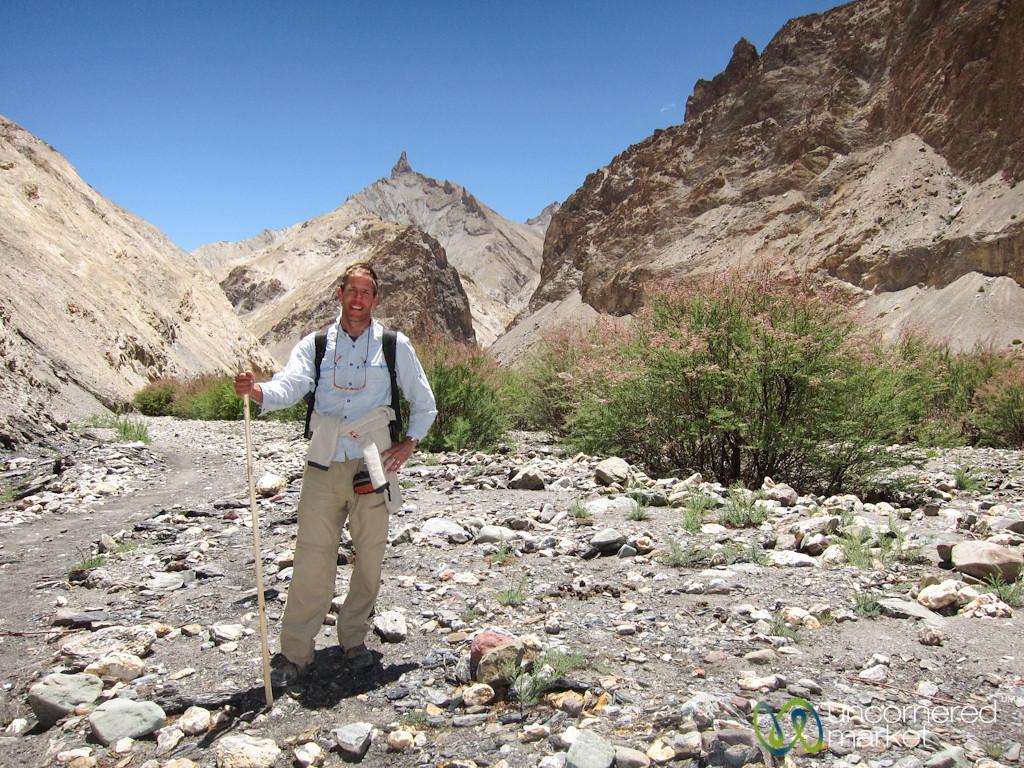 Dan Hiking on the Markha Valley Trek - Ladakh, India