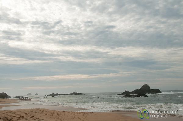 Early Morning on Mazunte Beach - Mexico