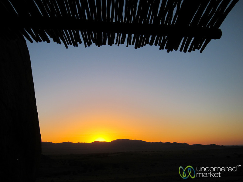 Sundowner View - Aus, Namibia