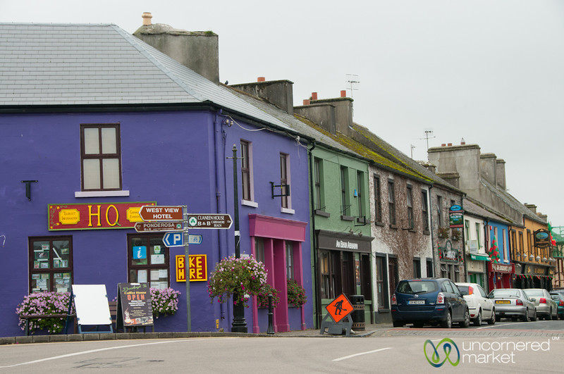 Colorful Louisburgh Streets - County Mayo, Ireland