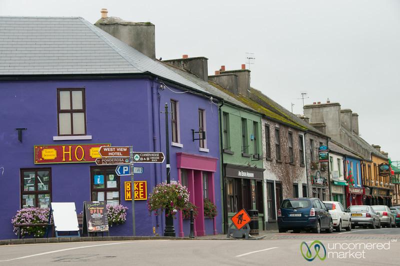 Colorful Louisburgh Streets - County Mayo, Ireland