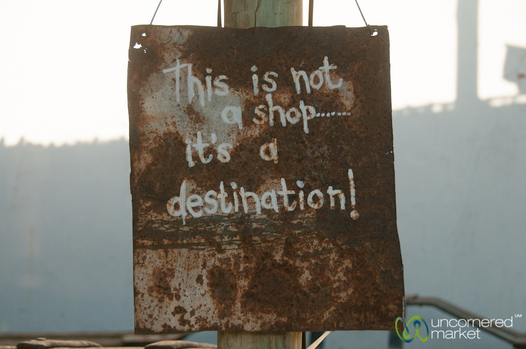 Humorous Sign in Upington - Northern Cape, South Africa