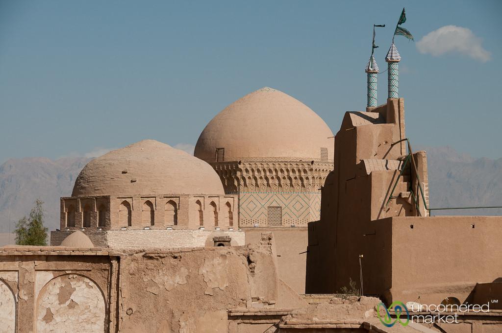 Skyline of Jameh Mosque - Yazd, Iran