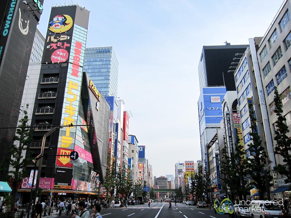 Akihabara Main Street - Tokyo, Japan