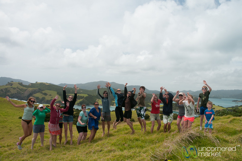 Group Jump in Bay of Islands - G Adventures in New Zealand
