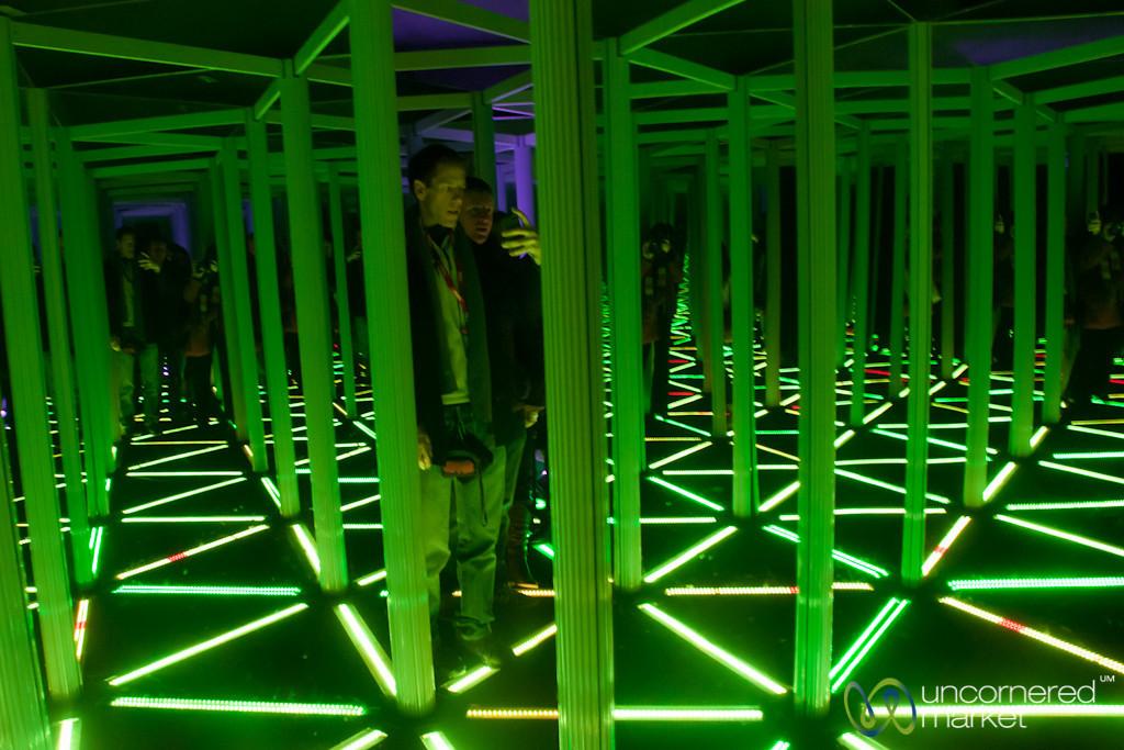 Camera Obscura House of Mirrors - Edinburgh, Scotland