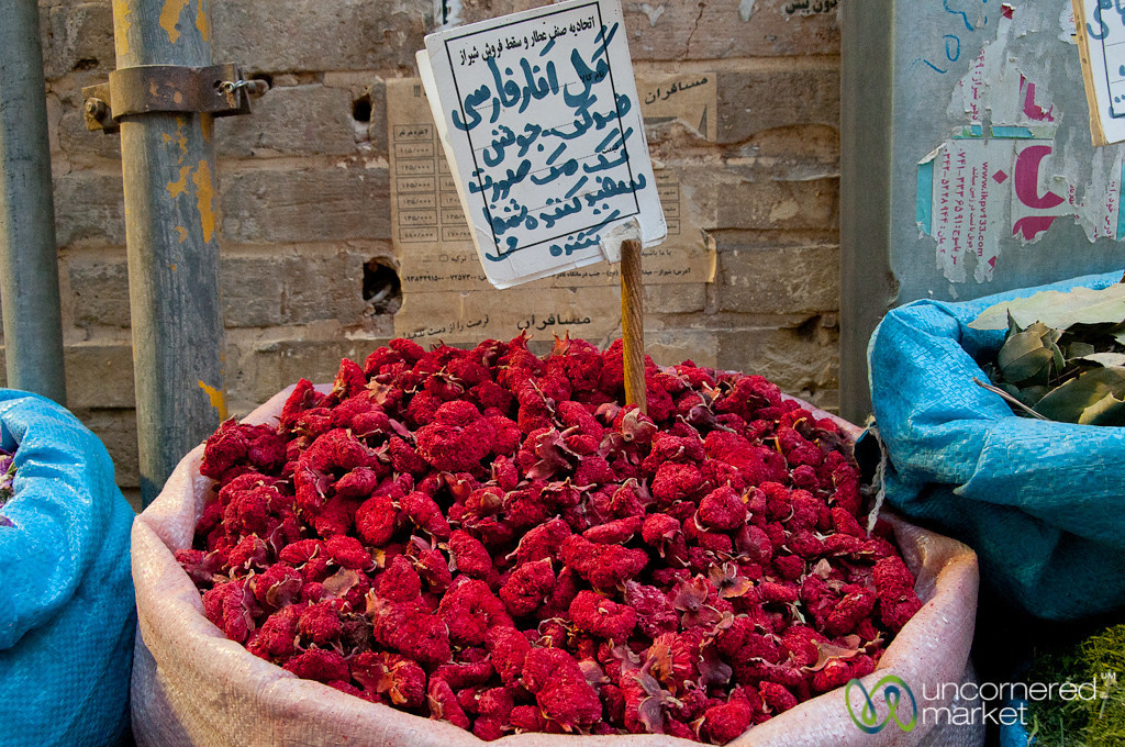 Herbal Teas at Shiraz Market - Iran