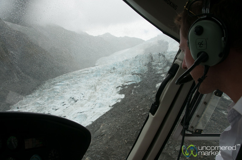 Helicopter Ride to Franz Josef Glacier - South Island, New Zealand