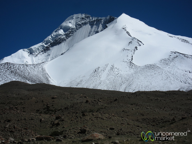 Snow-Covered Kang Yatze Peak - Ladakh, India