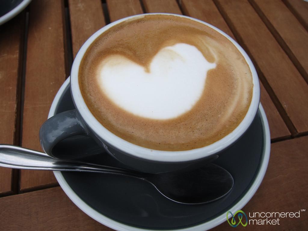 Valentine's Day Coffee - Queenstown, New Zealand