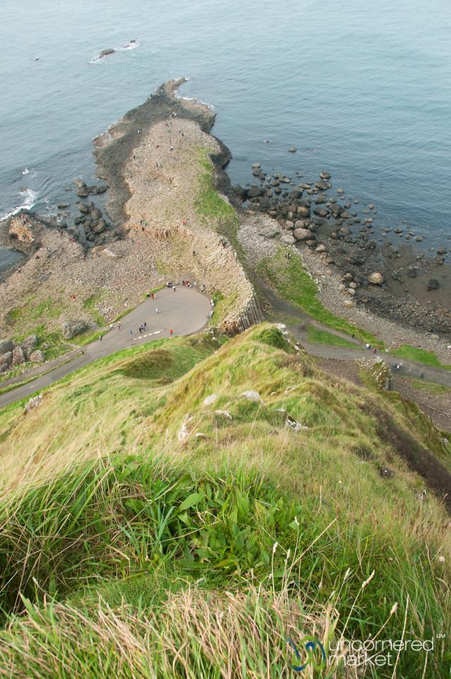 Giant's Causeway from Above - Northern Ireland