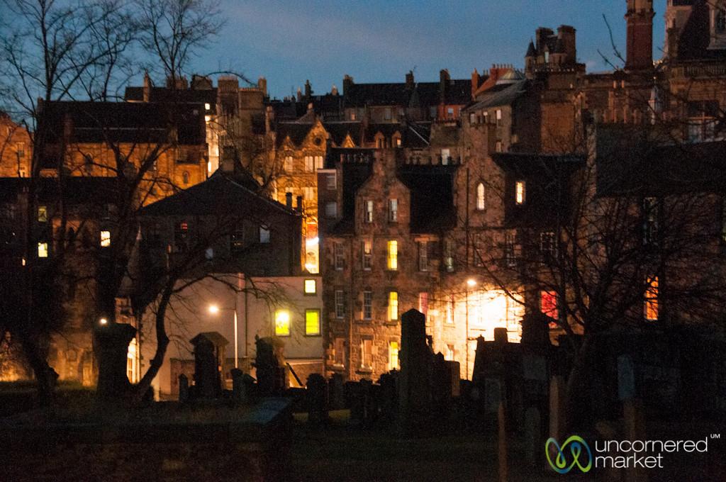 Cemetery and Courtyards - Edinburgh, Scotland