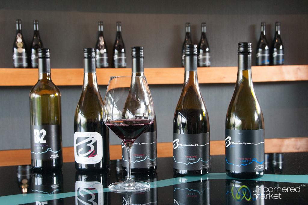 Brennan Wineries near Queenstown - New Zealand
