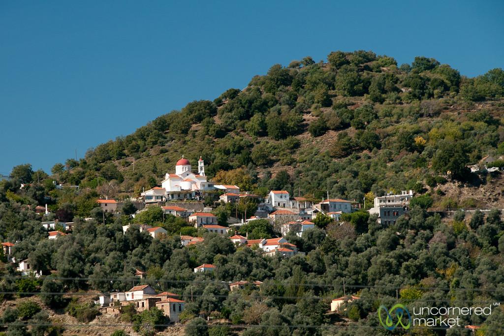 Cretan Village on the Hill - Crete, Greece