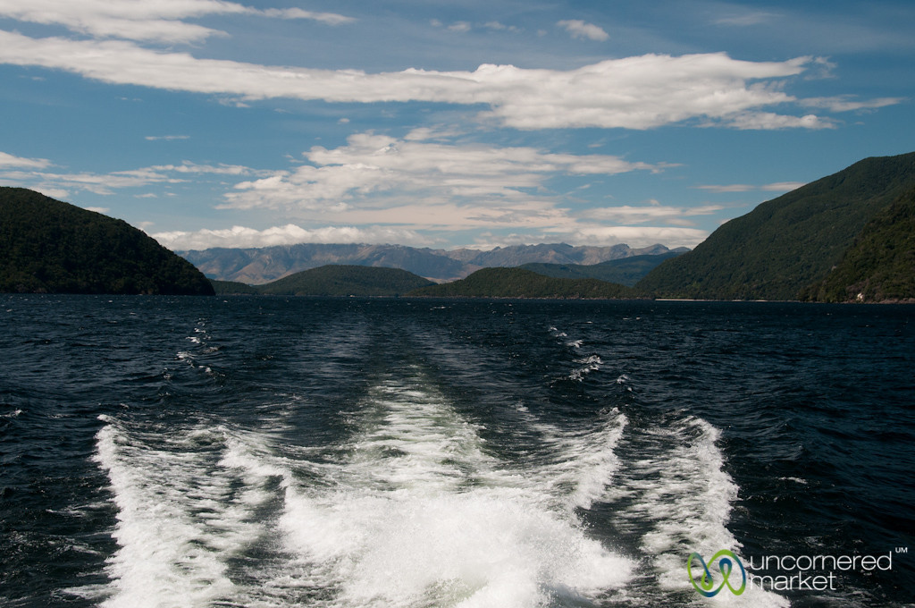 Ferry Ride at Doubtful Sound - New Zealand