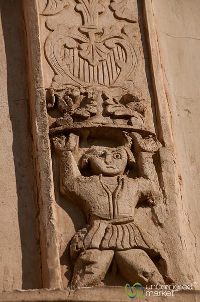 Devil in Kashan, Iran