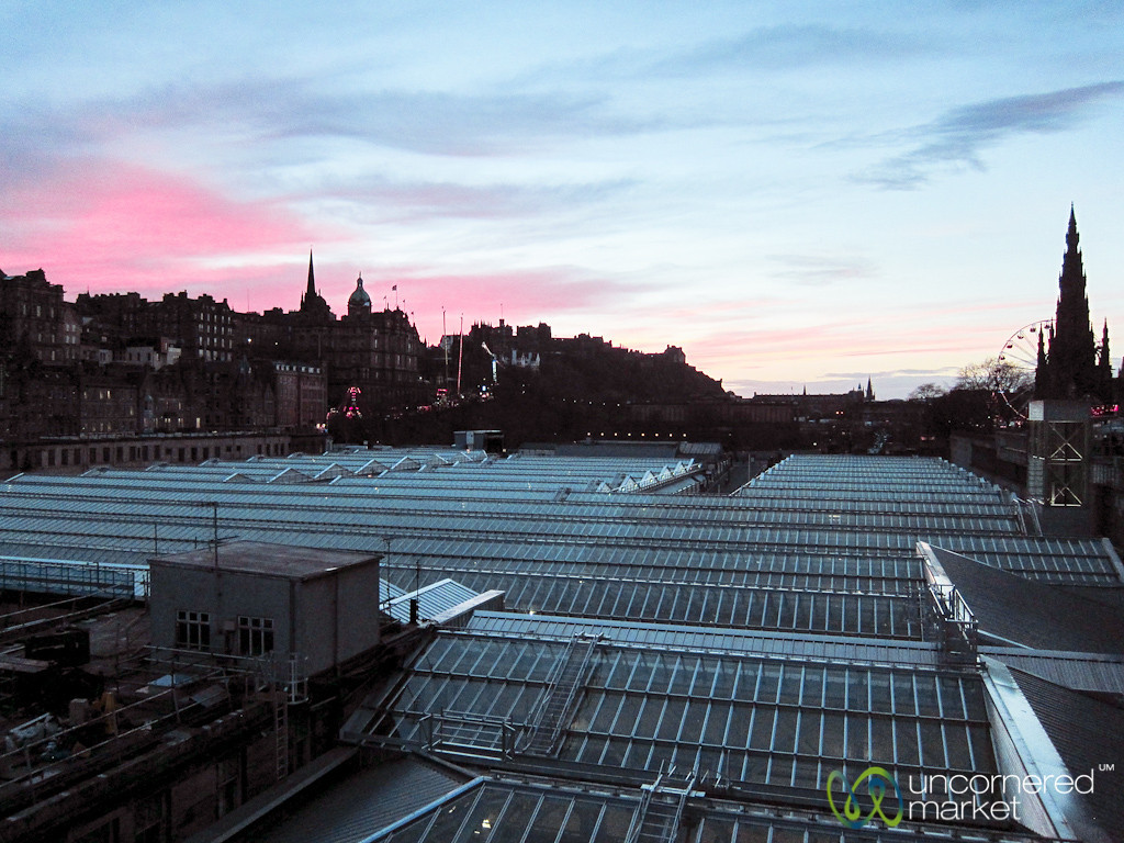 Edinburgh at Sunset - Scotland