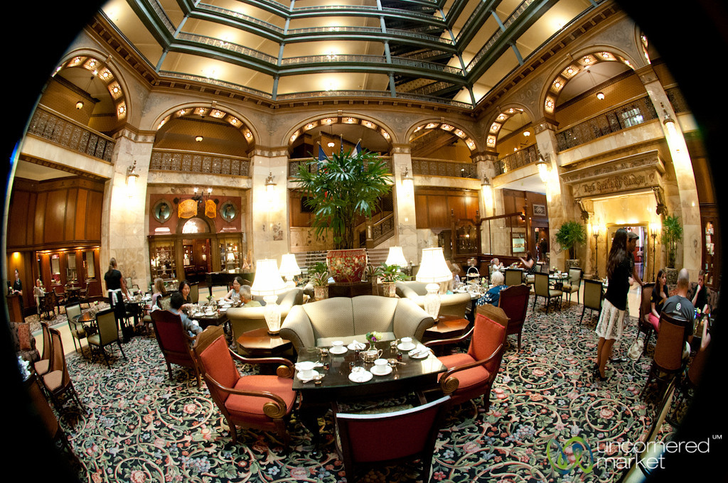 Brown Palace, Fisheye Interior - Denver, Colorado