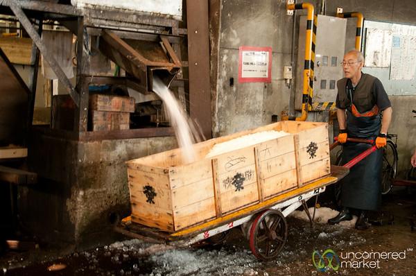 Tsukiji Fish Market, Crushed Ice Collection - Tokyo, Japan
