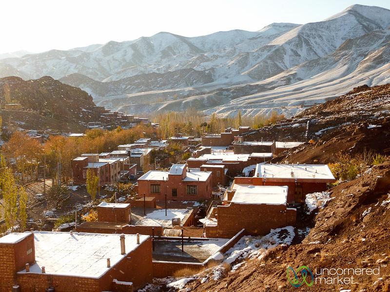 Abyaneh Mountain Views - Iran