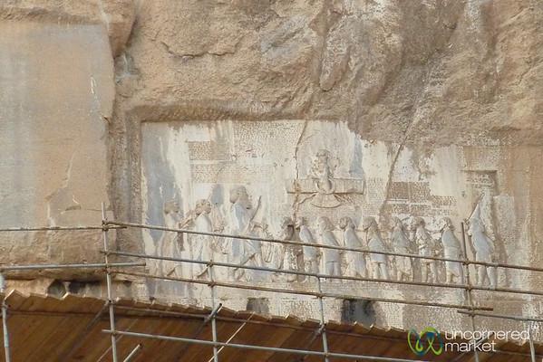Bisotun Bas-Relief Carvings - Kermanshah, Iran