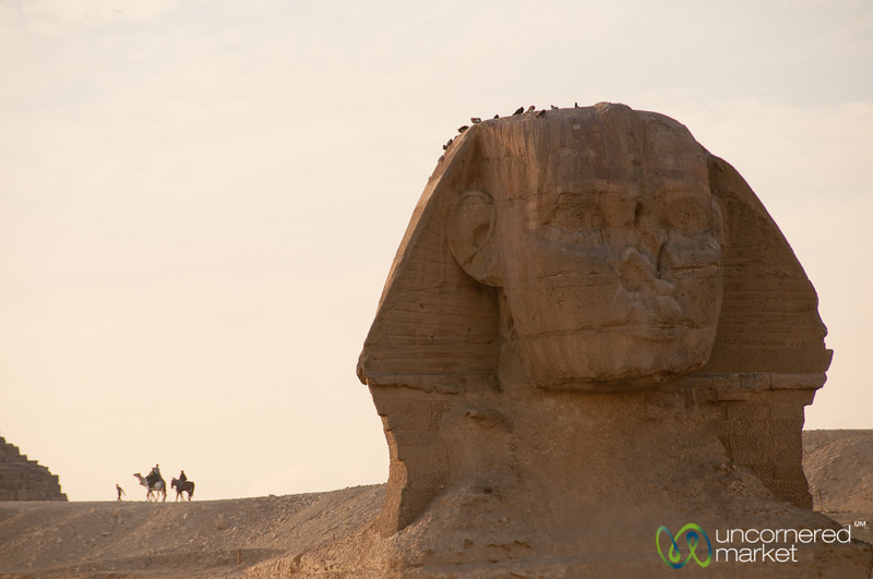 Great Sphinx in Late Afternoon - Giza, Egypt