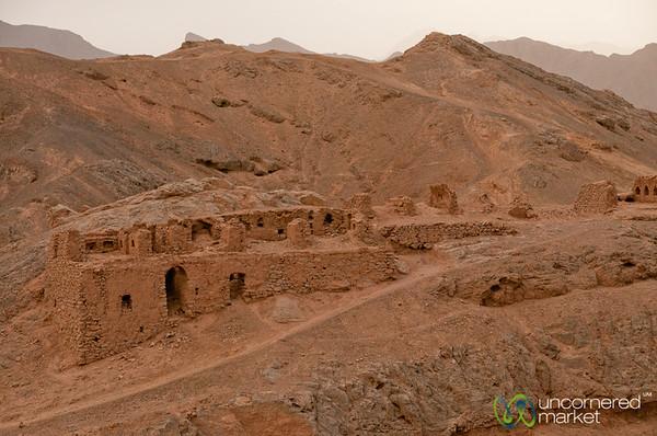 Zoroastrian Cemetery in Yazd, Iran