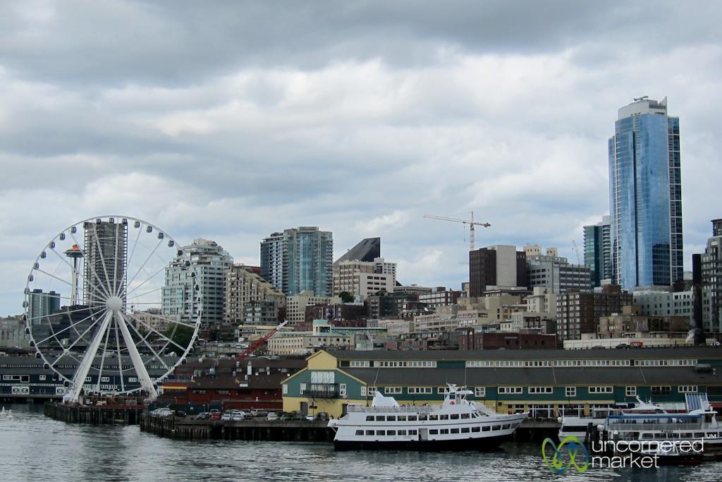 Seattle Skyline from Puget Sound - Washington