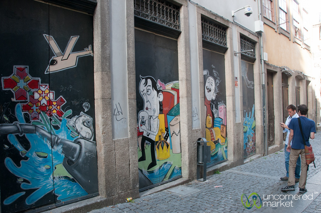 Photographing Street Art in Porto