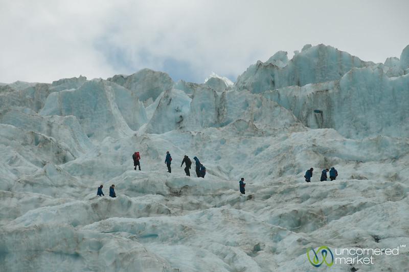 Hiking Franz Josef Glacier - South Island, New Zealand