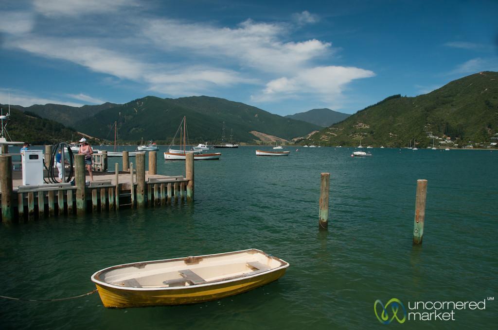Anikawa Row Boat - Marlborough, New Zealand